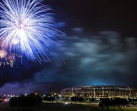 Beautiful fireworks to end the 2013 AFCON