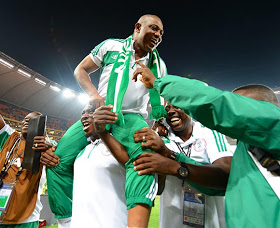Nigeria's coach Keshi becomes only the second person to win AFCON as a player and then a coach