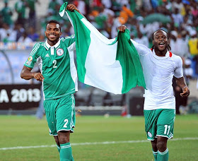 Joseph Yobo and Victor Moses