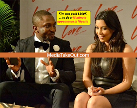 Darey Art Alade and KimK